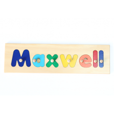 7 Letter Name Puzzle Personalised Wooden Name Puzzles