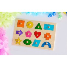 Wooden Puzzle - Shapes Educational Puzzles