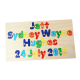 Personalised Wooden Full Name Puzzles