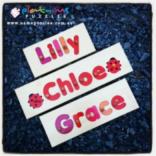 5 Letter Name Puzzle Personalised Wooden Name Puzzles